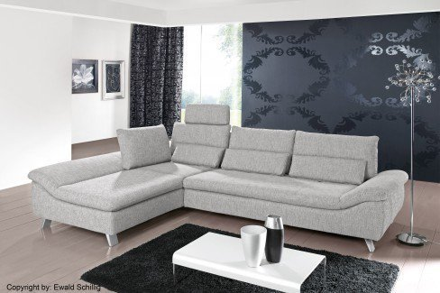 ewald schillig sofa dragon hellgrau m bel letz ihr online shop. Black Bedroom Furniture Sets. Home Design Ideas