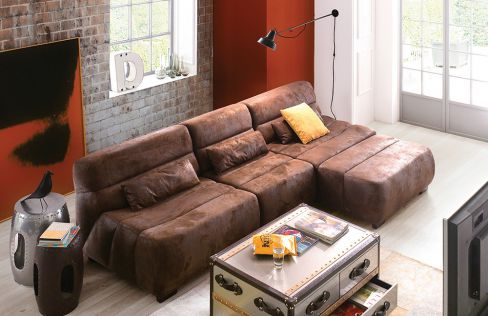 sit more scout ecksofa braun m bel letz ihr online shop. Black Bedroom Furniture Sets. Home Design Ideas