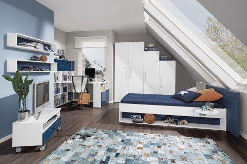 Jugendzimmer von wellem bel jugendwunder saphirblau - Jugendzimmer blau ...