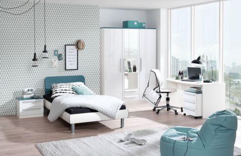 Jugend wohnwand unlimited von wellem bel m bel letz ihr online shop - Jugendzimmer lenja ...