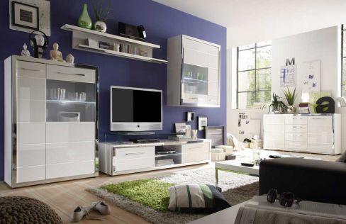 wohnwand nussbaum i montreal victoir von trendteam m bel letz ihr online shop. Black Bedroom Furniture Sets. Home Design Ideas