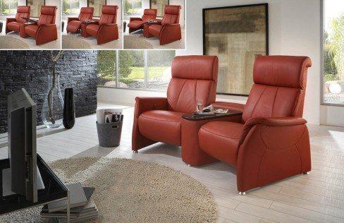 polsteria polsterm bel home comfort ledersofa magic relaxx rot m bel letz ihr online shop. Black Bedroom Furniture Sets. Home Design Ideas