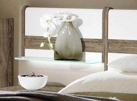 schlafzimmer leona plus von rauch steffen in eiche sanremo dunkel wei m bel letz ihr online. Black Bedroom Furniture Sets. Home Design Ideas