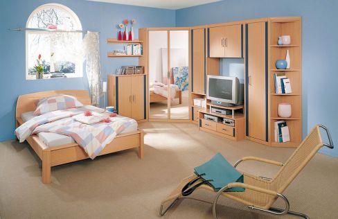 Jugendzimmer buche lenja von welle m bel letz ihr online shop - Jugendzimmer lenja ...