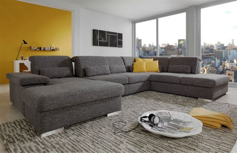 poco polsterm bel san marino polstergarnitur braun m bel letz ihr online shop. Black Bedroom Furniture Sets. Home Design Ideas