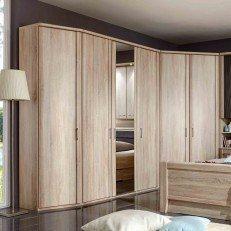 Luxor 4 von Wiemann - Überbau-Schlafzimmer Eiche-sägerau