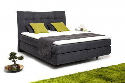Malibu 3 von Black Red White - Boxspringbett 180 anthrazit