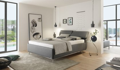 Casa von Ruf Betten - Boxspringbett KTD-K in Komforthöhe elefant