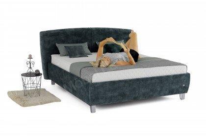 Luna von Ruf Betten - Boxspringbett in Grey-Blue