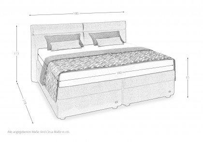Ruf Betten Veronesse Boxspringbett In Braun Mobel Letz Ihr Online Shop