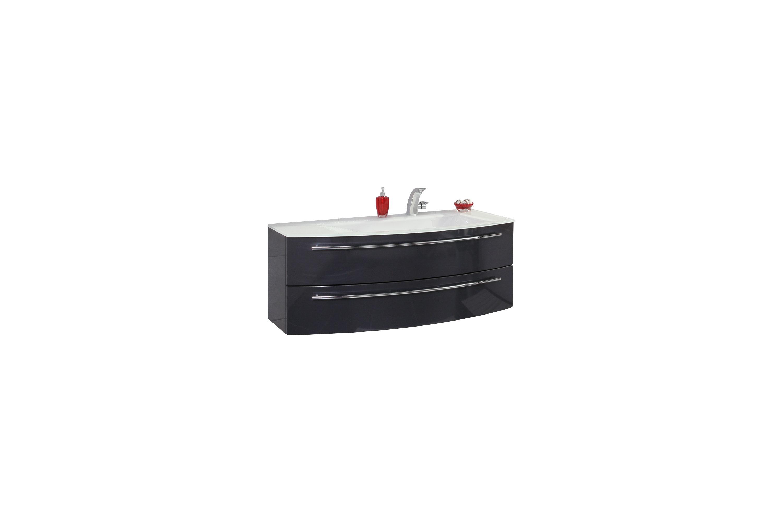 badezimmer crescendo in anthrazit hochglanz von puris m bel letz ihr online shop. Black Bedroom Furniture Sets. Home Design Ideas