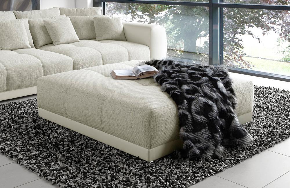 sam big sofa in beige wei von jockenh fer m bel letz ihr online shop. Black Bedroom Furniture Sets. Home Design Ideas