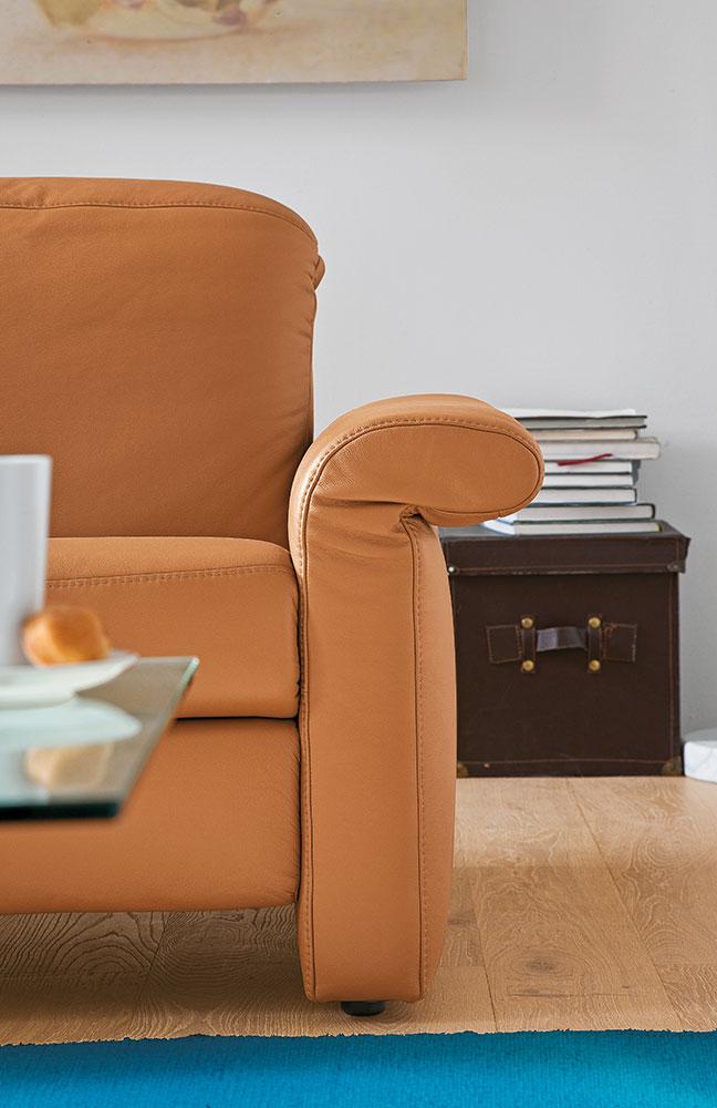 claude von casada ledergarnitur braun m bel letz ihr online shop. Black Bedroom Furniture Sets. Home Design Ideas