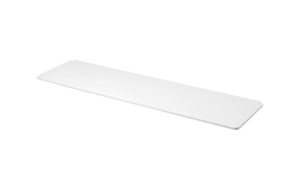 FLEXA White - Hochbett mit senkrechter Leiter weiß/ natur. Möbel ...