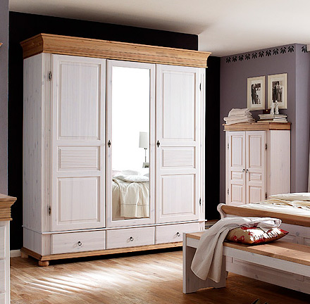 oslo von euro diffusion schlafzimmer wei antik - Schlafzimmer Wei Landhausstil