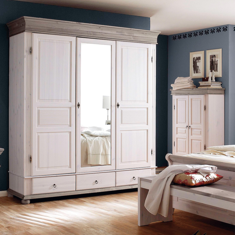 schlafzimmer im landhausstil oslo alesund von euro. Black Bedroom Furniture Sets. Home Design Ideas