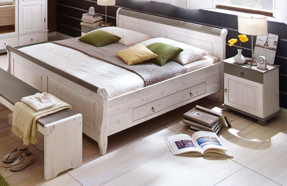 Schlafzimmer Landhausstil Weiß Landhaus Einrichtung: 85 Ideen Für Ihre  Villa!