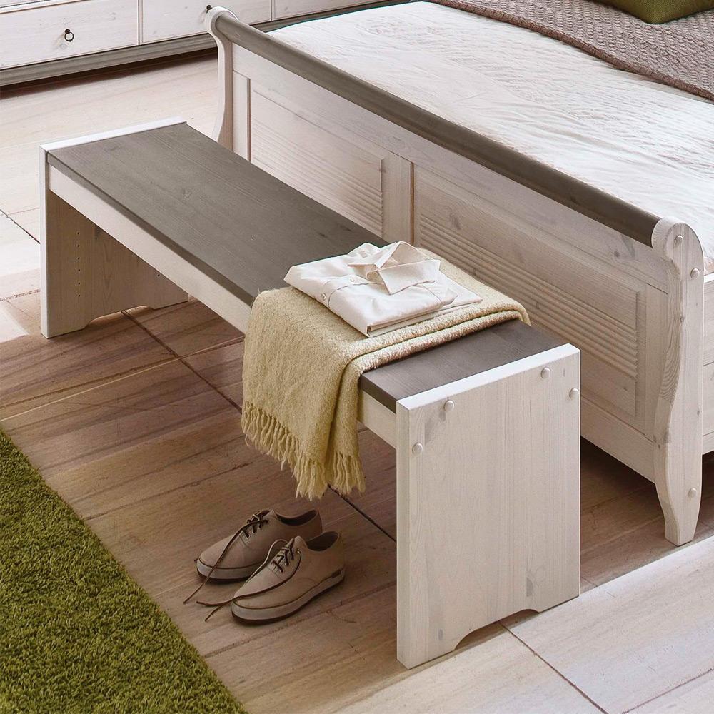 Schlafzimmer-Set im Landhausstil Oslo von Euro Diffusion ...