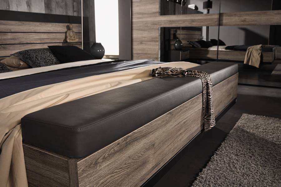 schlafzimmer ventura rauch schwarz eiche sanremo m bel letz ihr online shop. Black Bedroom Furniture Sets. Home Design Ideas