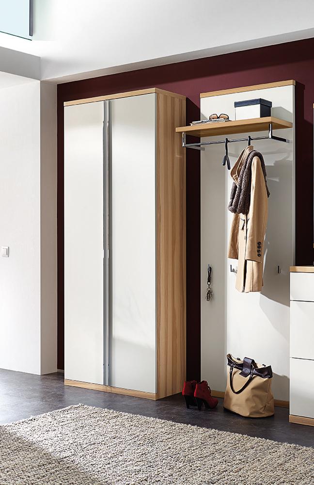 garderobe siena celesta z31418 in lack wei kernesche. Black Bedroom Furniture Sets. Home Design Ideas