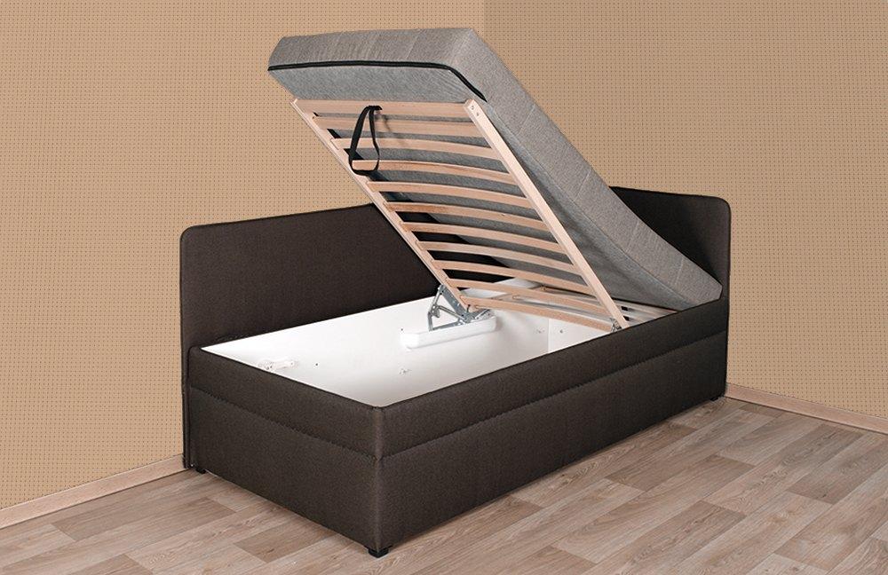 einzelliege sentino senta von hapo schlafm bel in braun m bel letz ihr online shop. Black Bedroom Furniture Sets. Home Design Ideas