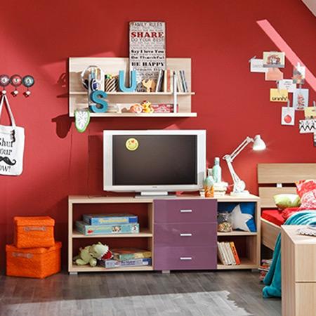 jugendzimmer kombiline plus von prenneis in apfelbaum nachbildung m bel letz ihr online shop. Black Bedroom Furniture Sets. Home Design Ideas