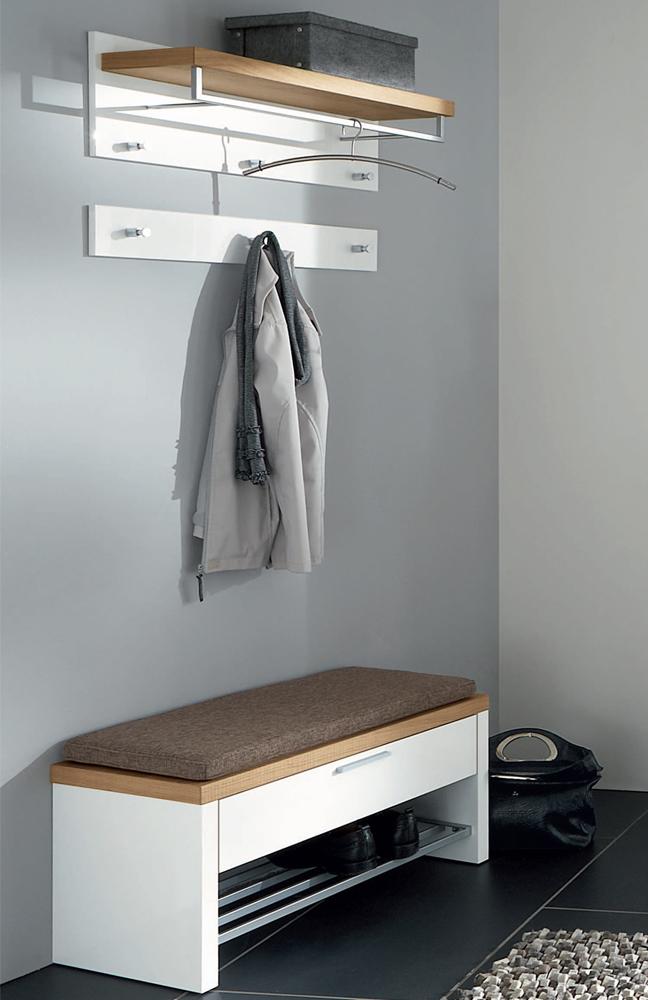 garderobe burgos vivien in wei eichevon voss m bel. Black Bedroom Furniture Sets. Home Design Ideas