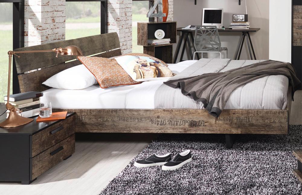 schlafzimmer sumatra von rauch select in schwarz. möbel letz - ihr ... - Schlafzimmer Retro Look