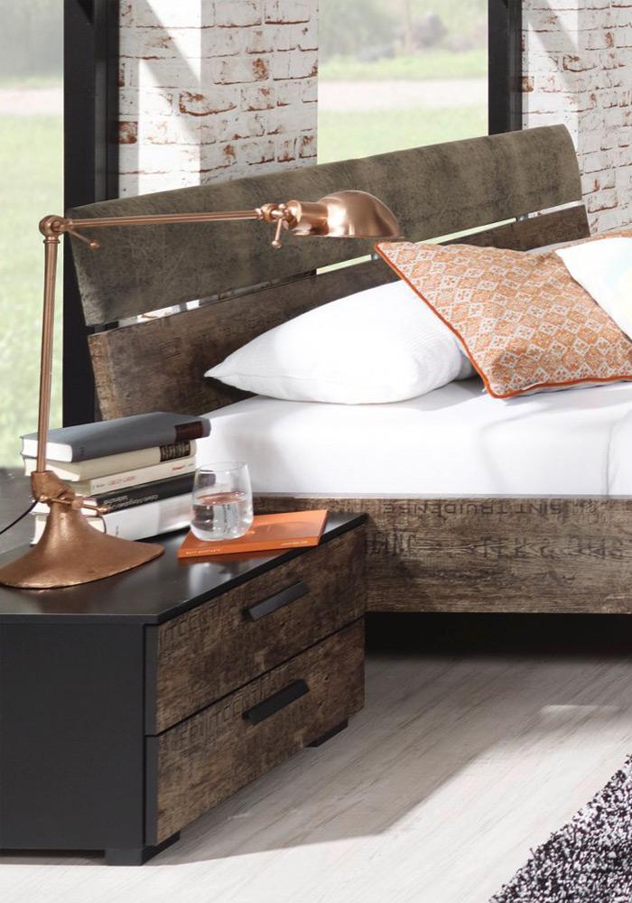schlafzimmer sumatra von rauch select in schwarz m bel letz ihr online shop. Black Bedroom Furniture Sets. Home Design Ideas