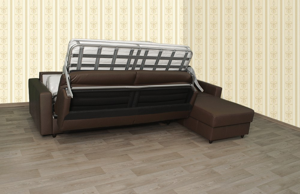 schlafsofa messina braun von bali polsterm bel m bel letz ihr online shop. Black Bedroom Furniture Sets. Home Design Ideas