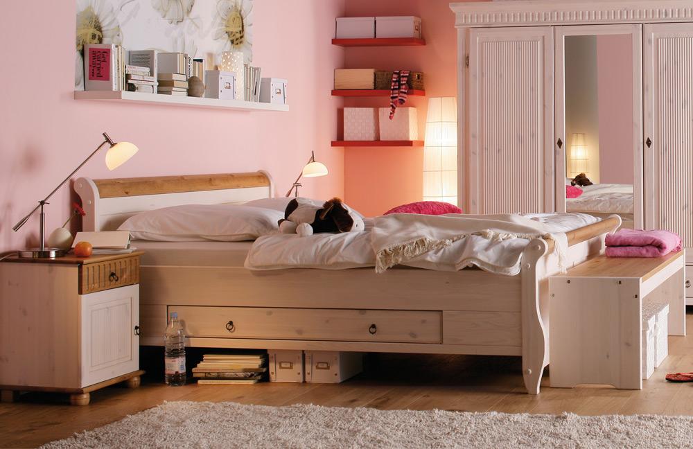 massivholz schlafzimmer helsinki euro diffusion m bel letz ihr online shop. Black Bedroom Furniture Sets. Home Design Ideas