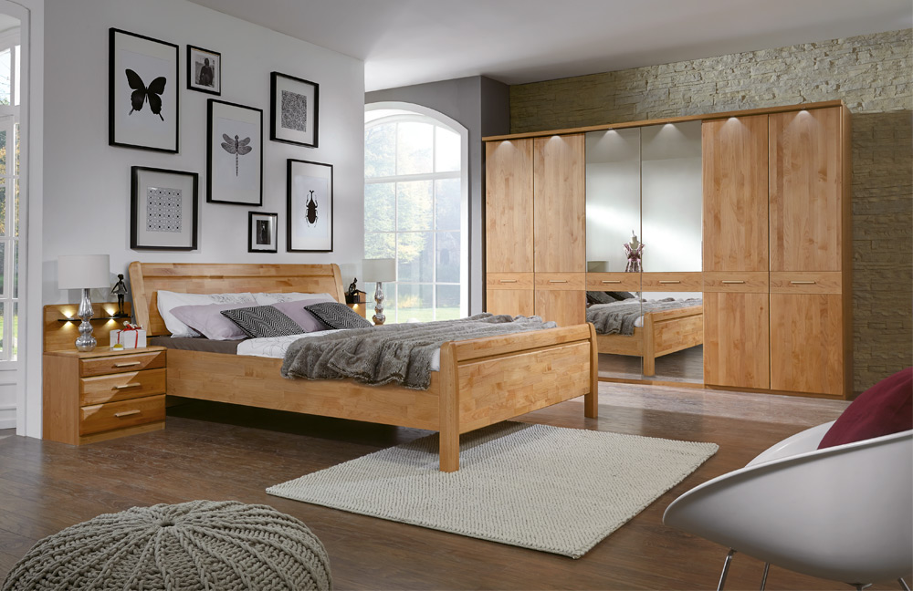 wiemann toledo schlafzimmer erle m bel letz ihr online. Black Bedroom Furniture Sets. Home Design Ideas