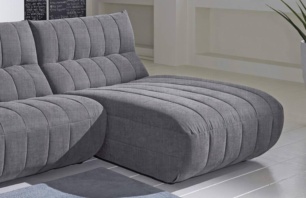 new look m bel mirella ecksofa hellgrau m bel letz ihr online shop. Black Bedroom Furniture Sets. Home Design Ideas