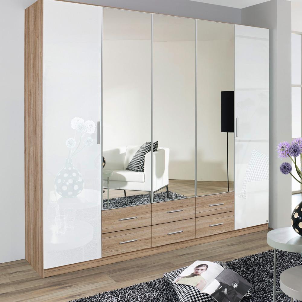 rauch hilden extra schrank eiche wei m bel letz ihr online shop. Black Bedroom Furniture Sets. Home Design Ideas