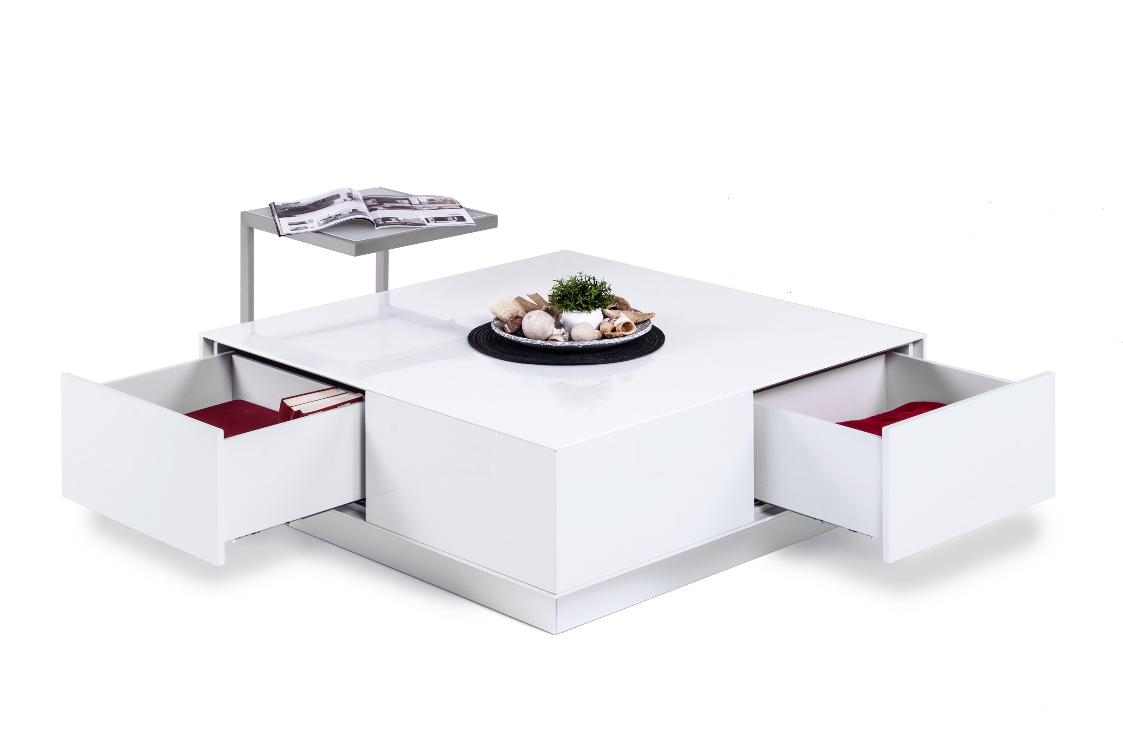 Wöstmann Couchtisch NW 660 weiß  Möbel Letz  Ihr OnlineShop