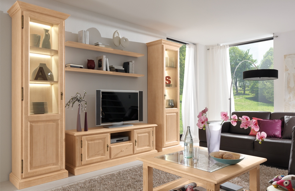 rojas mobiliario wohnwand cadiz 000 m bel letz ihr online shop. Black Bedroom Furniture Sets. Home Design Ideas