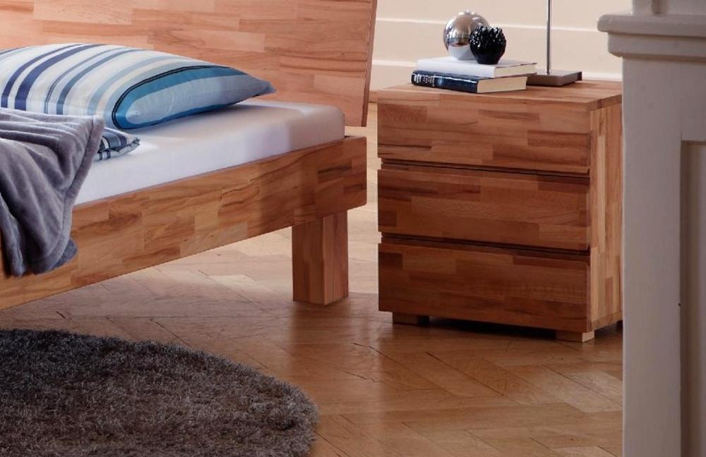 hasena wood line cantu bett kernbuche m bel letz ihr. Black Bedroom Furniture Sets. Home Design Ideas