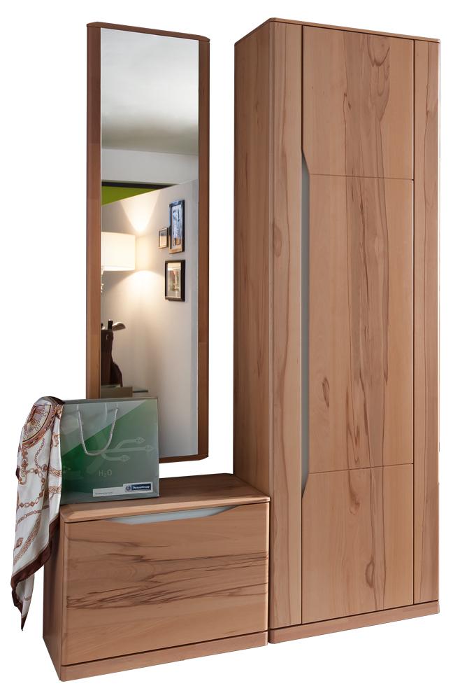 garderobe paso kernbuche von bienenm hle m bel letz. Black Bedroom Furniture Sets. Home Design Ideas