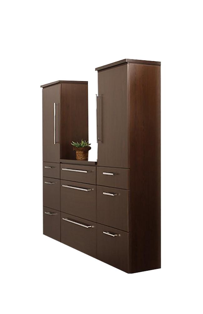 badezimmer cool line schokoeiche von puris m bel letz ihr online shop. Black Bedroom Furniture Sets. Home Design Ideas