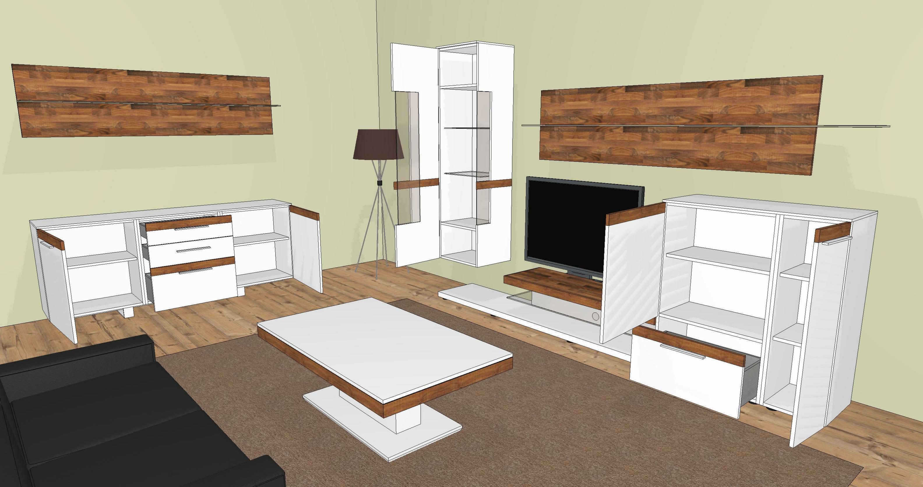 gwinner wohndesign wohnwand casale cs3 m bel letz ihr online shop
