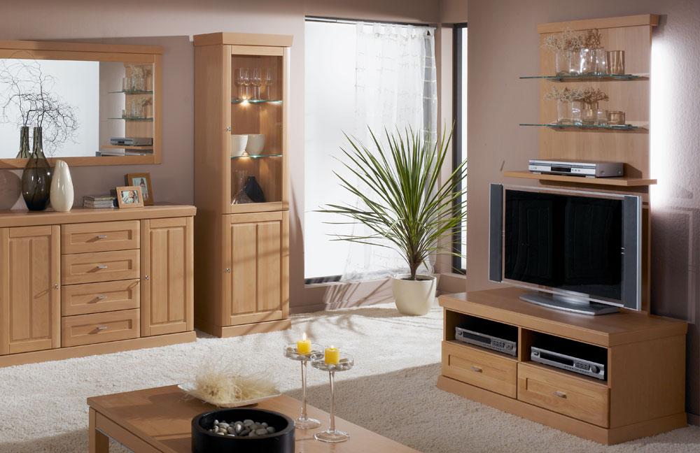 schr der m bel wohnwand heritage v15 buche m bel letz ihr online shop. Black Bedroom Furniture Sets. Home Design Ideas