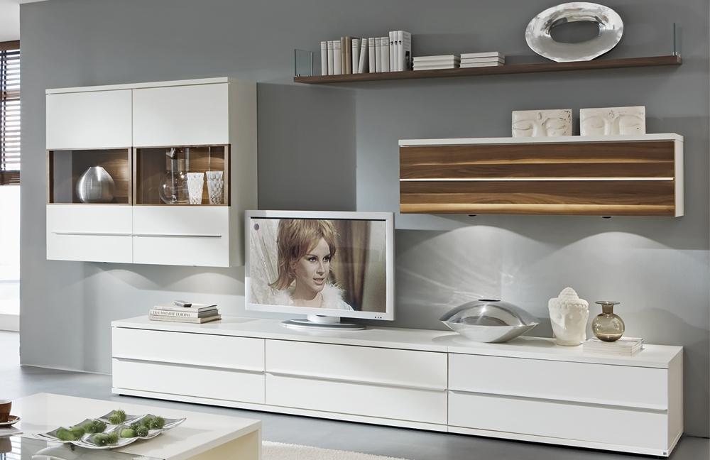 kito wohnwand 9837 caruba nuss wei von loddenkemper m bel letz ihr online shop. Black Bedroom Furniture Sets. Home Design Ideas