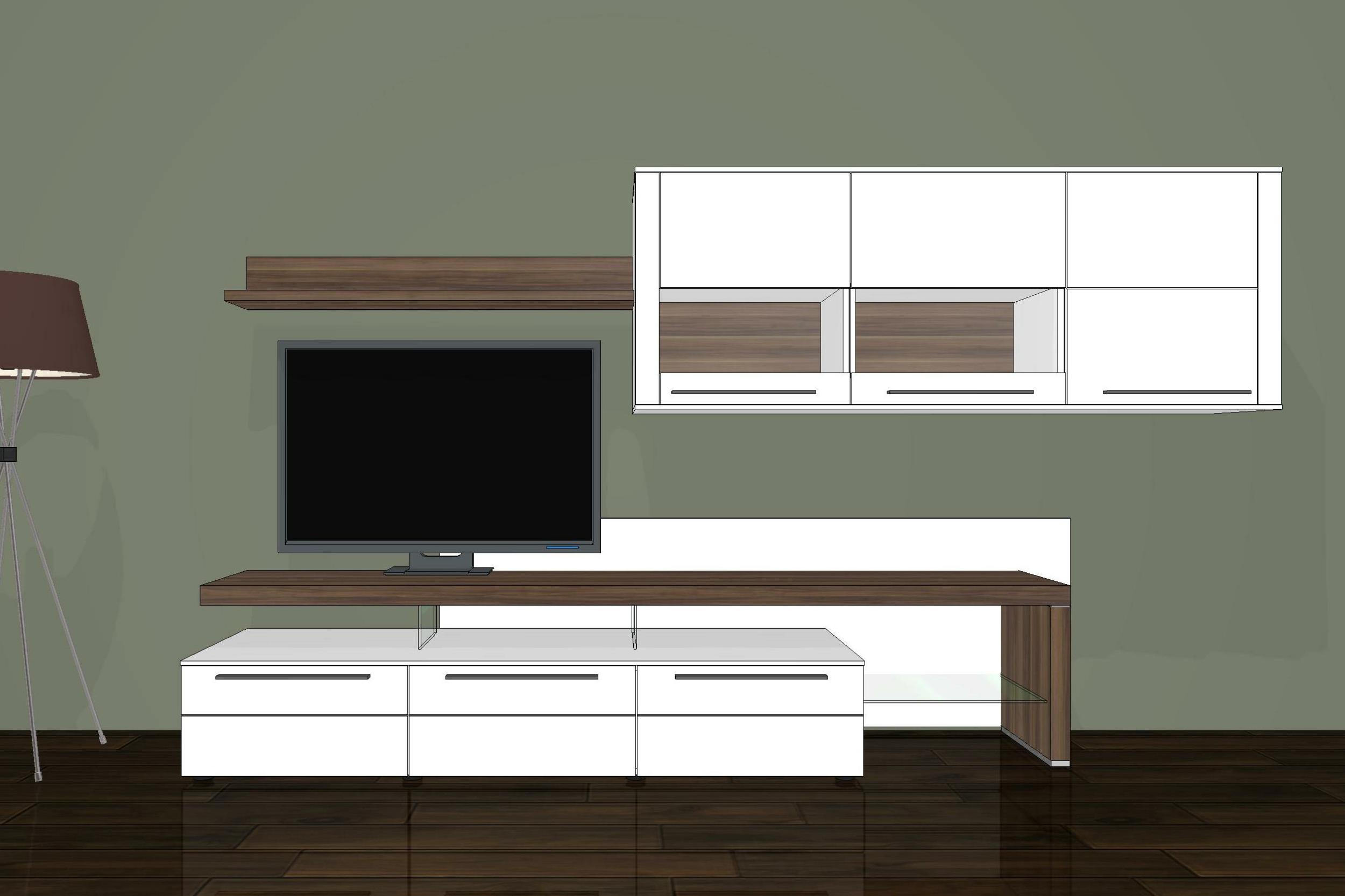 wohnwand bellano be15 von gwinner wohndesign m bel letz. Black Bedroom Furniture Sets. Home Design Ideas