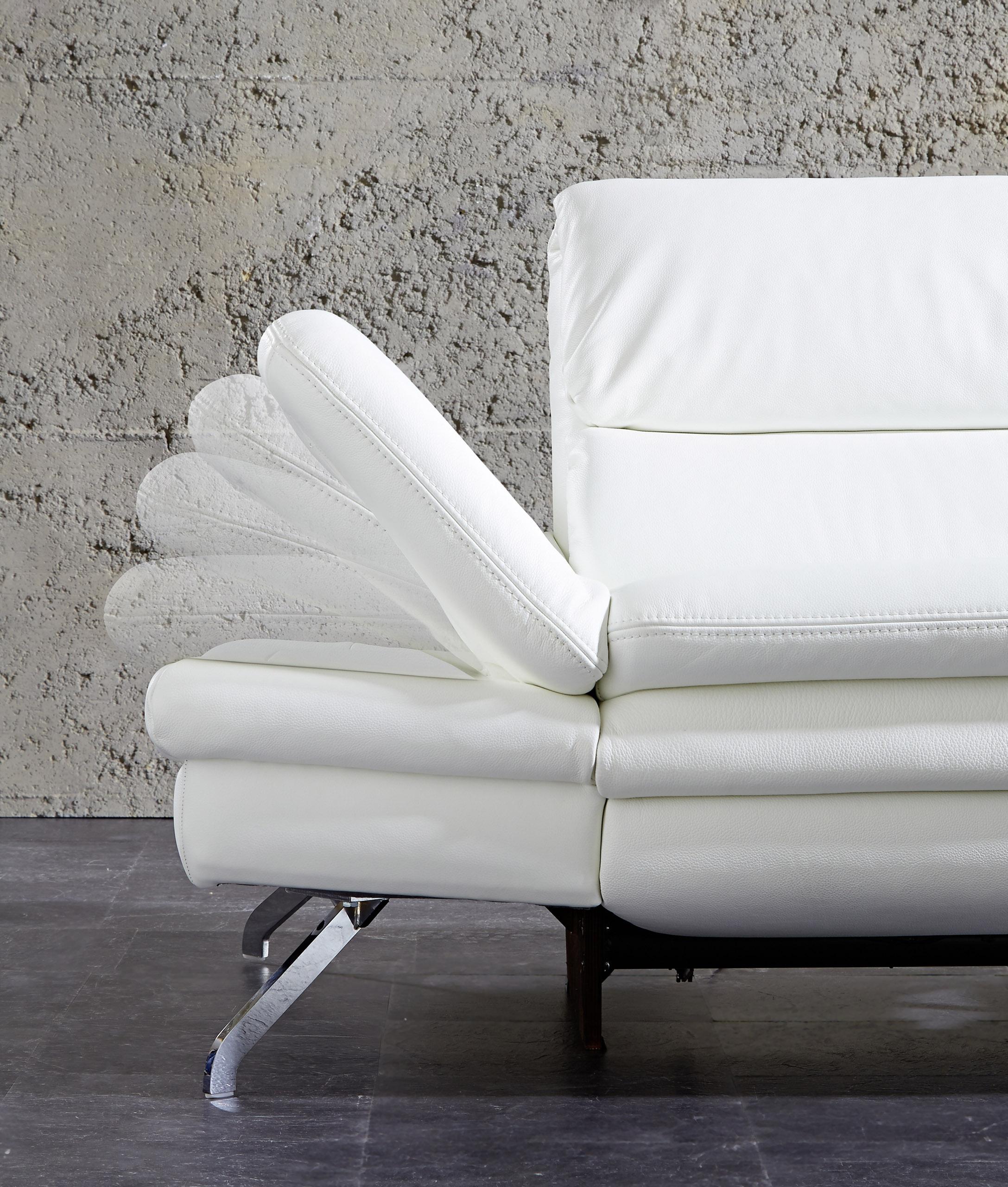 pm oelsa ledersofa san diego in wei m bel letz ihr. Black Bedroom Furniture Sets. Home Design Ideas