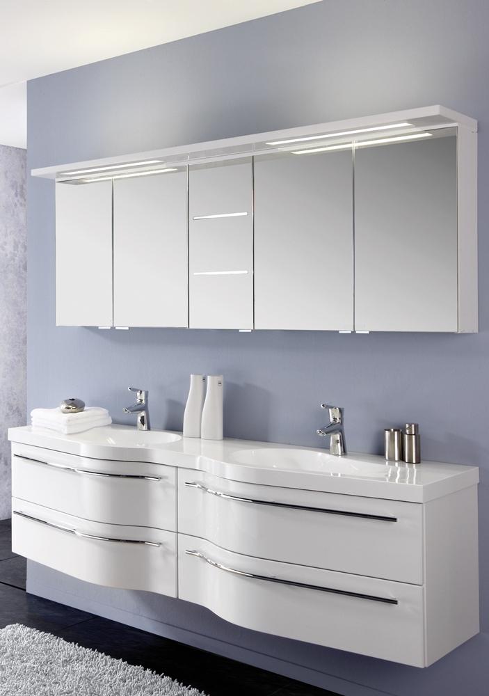 badezimmer swing polarwei hochglanz von puris m bel letz ihr online shop. Black Bedroom Furniture Sets. Home Design Ideas