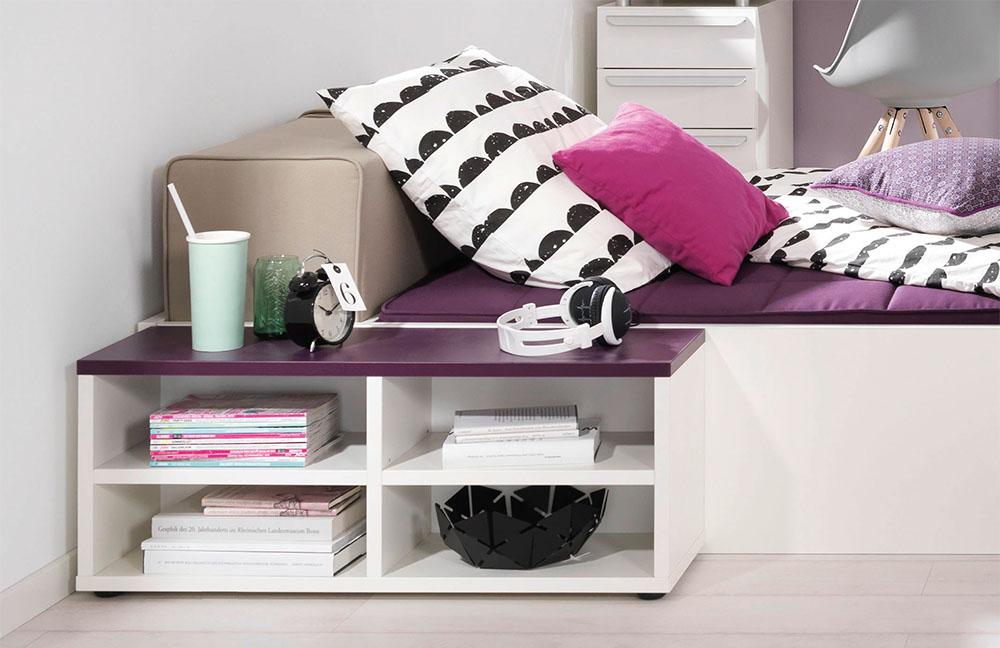 jugendzimmer wei lila beste inspiration f r ihr. Black Bedroom Furniture Sets. Home Design Ideas