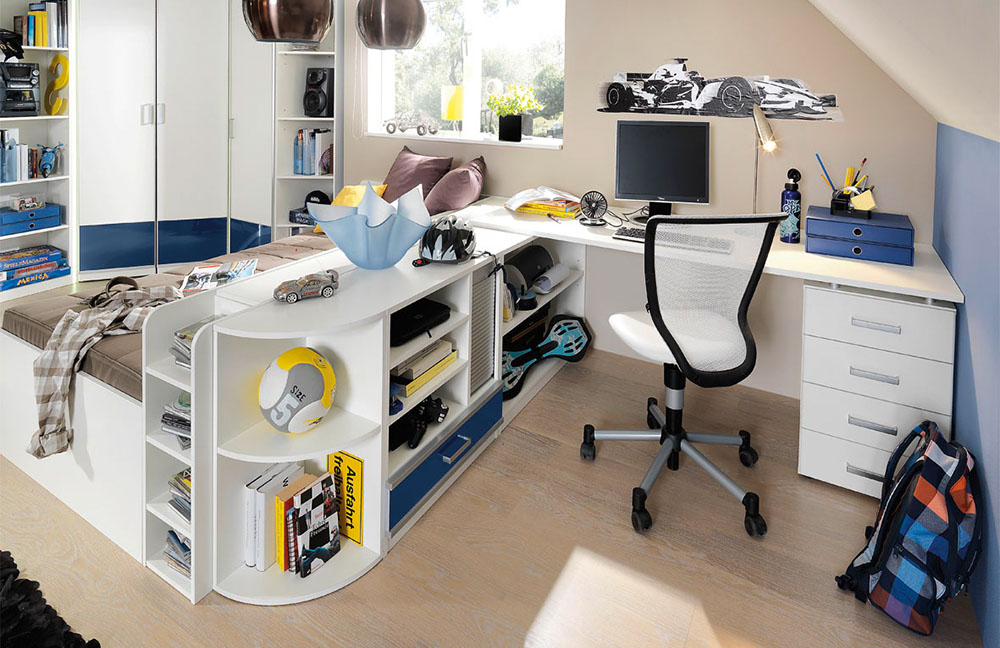 wellem bel finn jugendzimmer blau wei m bel letz ihr online shop. Black Bedroom Furniture Sets. Home Design Ideas