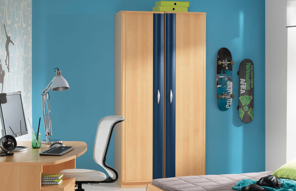 wellem bel jugendzimmer marius blau buche m bel letz ihr online shop. Black Bedroom Furniture Sets. Home Design Ideas