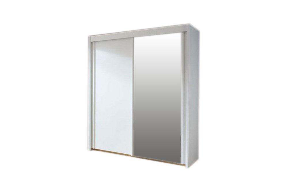 rauch imperial schrank wei spiegel m bel letz online shop. Black Bedroom Furniture Sets. Home Design Ideas