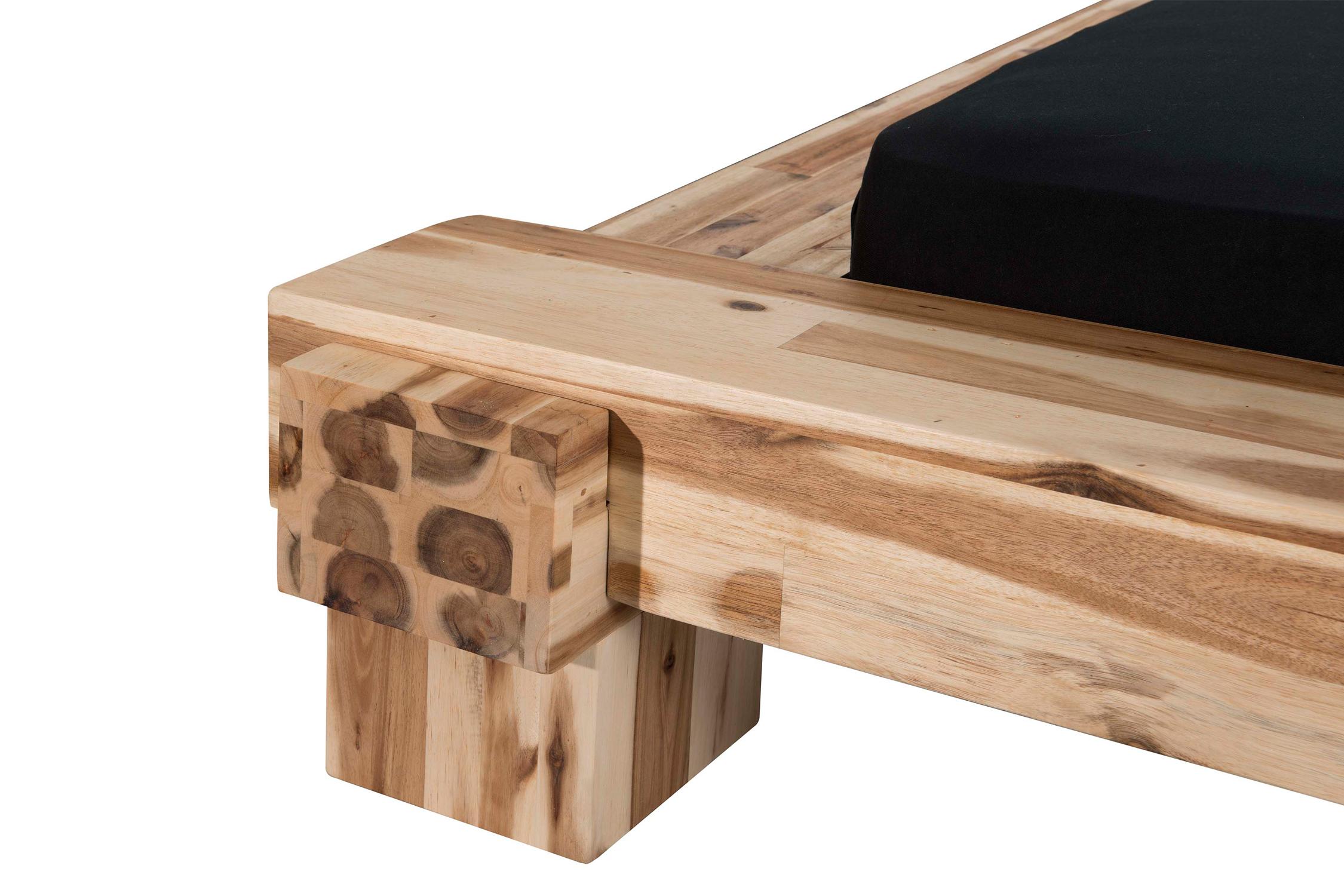 modular cali massivholzbett akazie m bel letz ihr online shop. Black Bedroom Furniture Sets. Home Design Ideas